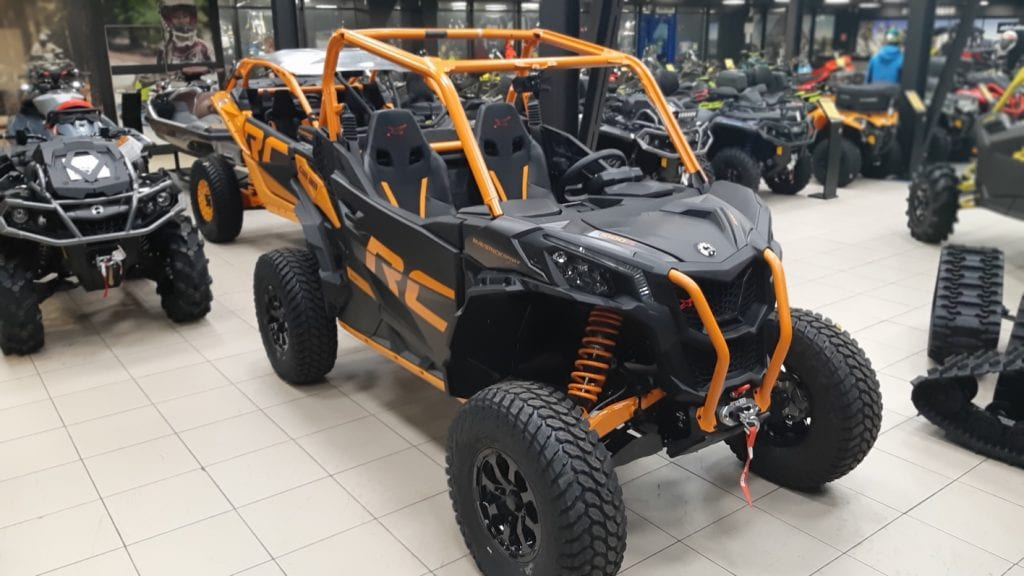 BRP Can-Am Maverick Sport X RC 1000 DPS (2020 м.г.)