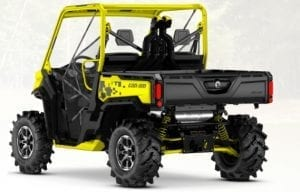 Can-Am Traxter HD10 X MR (2020 м.г.)