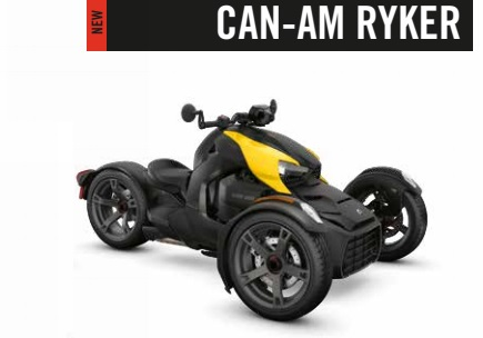 Родстер CAN-AM RYKER RALLY. Трицикл для шоссе и ралли?