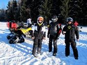 Пробег клуба BOMBARDIER Club 28 янв 2012 на снегоходах.