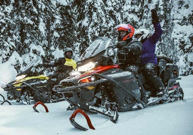 Ski-Doo представляет новые снегоходы 2020