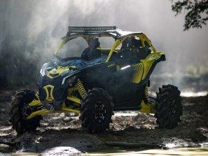 Новый Can-Am MAVERICK X3 Turbo X-MR
