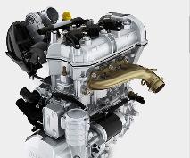 SKI-DOO внедряет новый двигатель в сезоне 2014