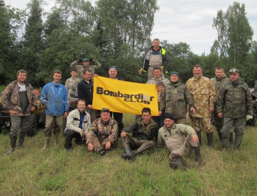 Квадровыезд BRP  в Клинский район. Август 2015