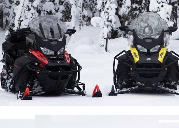 Новое поколение утилитарных снегоходов Ski-Doo BRP!