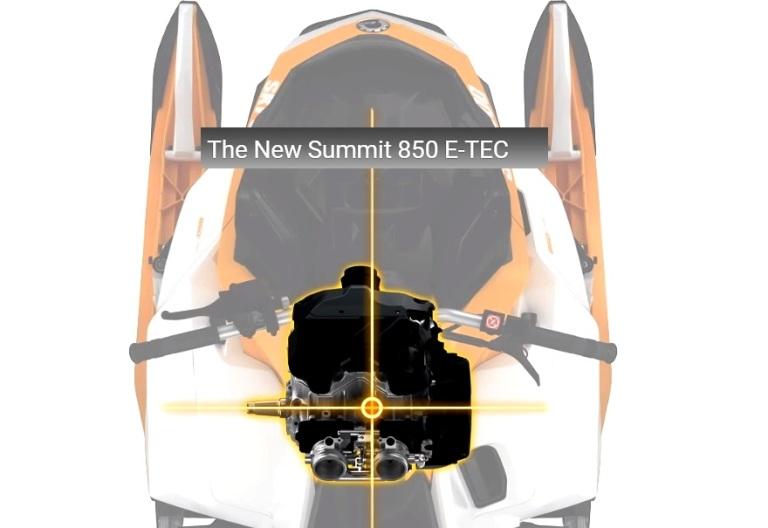 Технические подробности Ski-Doo SUMMIT G4.