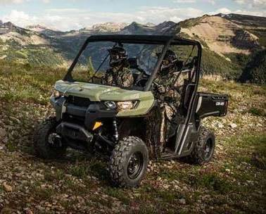 Can-Am Defender HD5 против Polaris Ranger 570