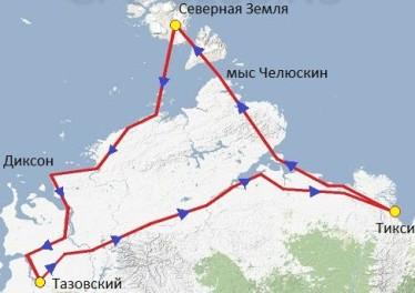 Арктический северный десант