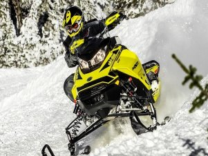 Новый спортивный снегоход от Ski-Doo 2019 MY