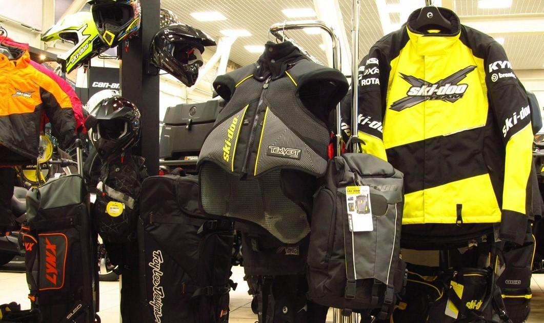 Экипировка и одежда 2016 Ski-Doo. Новая коллекция.