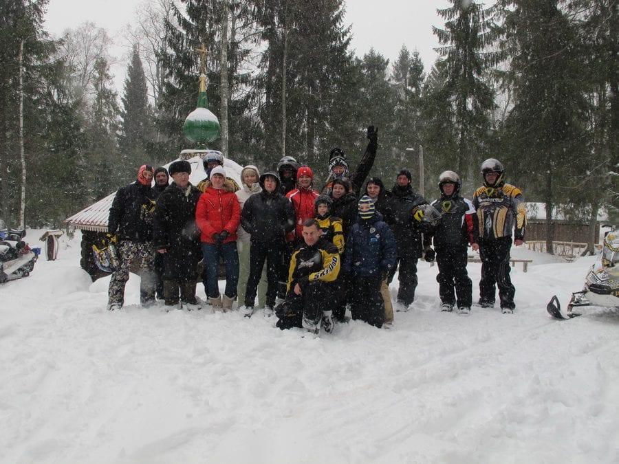 Bombardier Club в Пошехонье февраль 2012