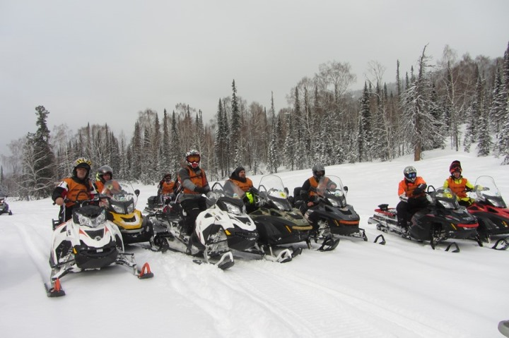 BRP Клуб: снегоходы Ski-Doo и   LYNX 2016 модельного года