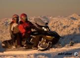 Снегоходное сафари Адыгея февраль 2012