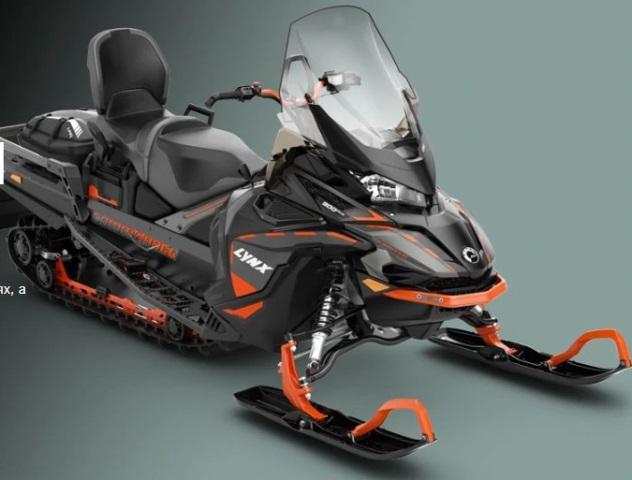 Новые модели снегоходов LYNX 2020