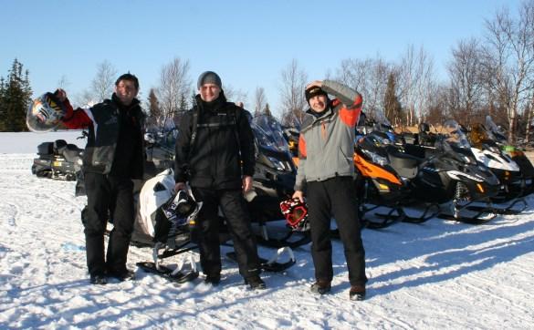 Снегоходы: тест-драйв по-серьёзному!
