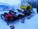 пробег на снегоходах в Конаково