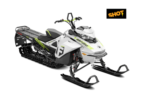 "Ski-Doo Freeride 850 154"" SHOT 2018"