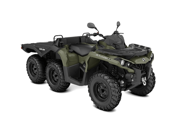 Can-Am Outlander 6x6 650 DPS With Flat Bed kit (2019 м.г.)