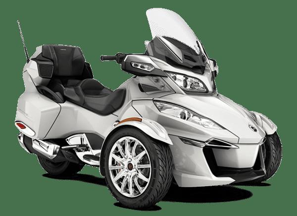 Can-Am Spyder RT LTD - Белый
