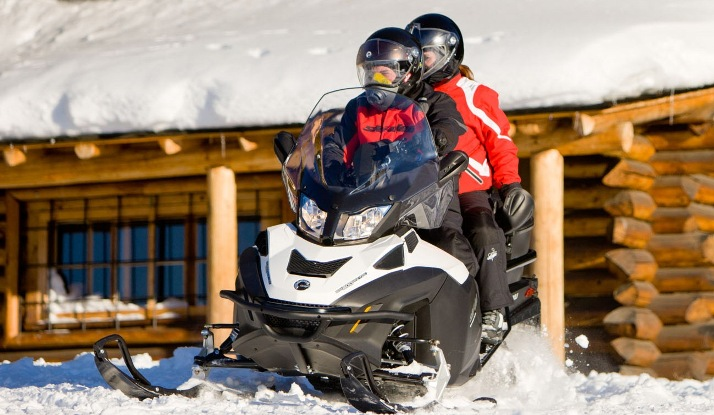 Снегоход Expedition SE 1200 Ski-Doo 2014