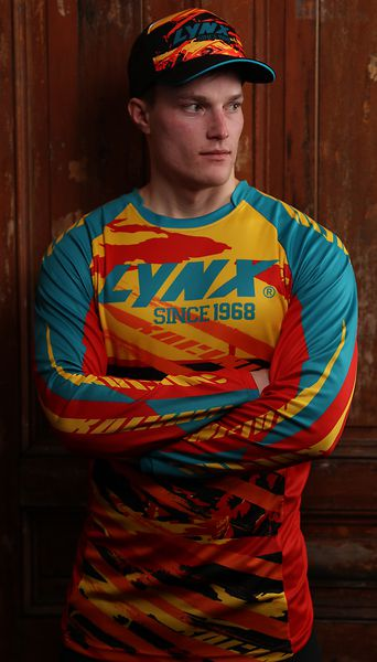 Футболка мужская джерси Lynx 50th Anniversary Technical Jerse, M  Mixed Colors