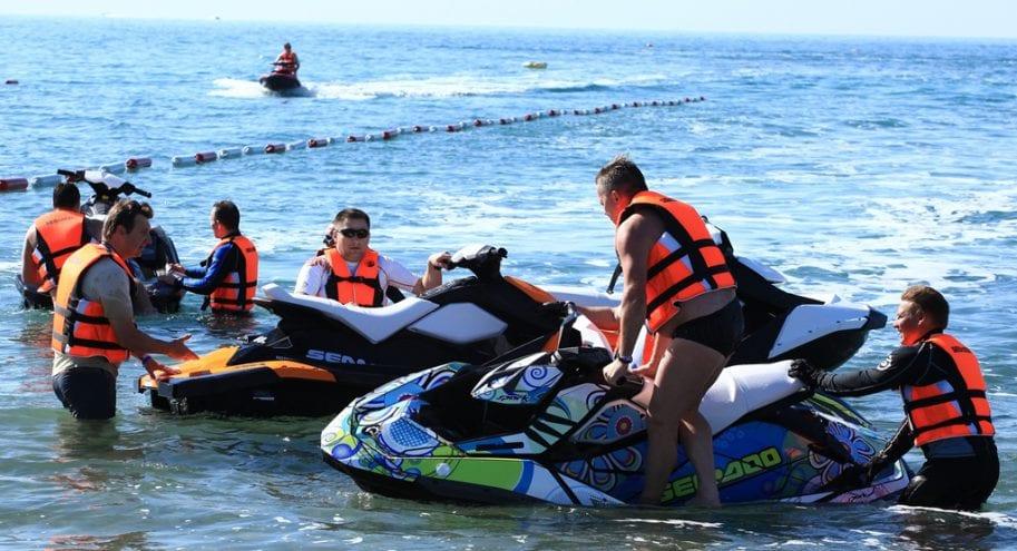 Новые гидроциклы SEA-DOO SPARK 2014. Фотоотчет с тест-драйва.