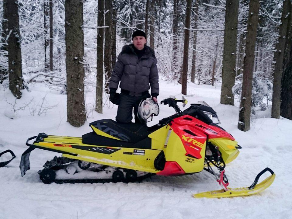 Большой тест-драйв Ski-Doo. Январь 2015