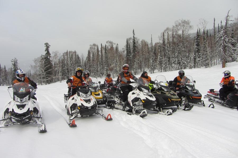 Шерегеш 2015. Ski-Doo и Lynx 2016 м.г.