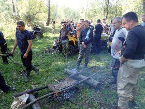 Квадропробег в Домодедовском районе Моск.обл.