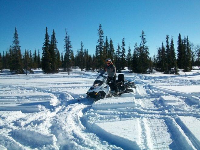 Тест драйв новых моделей. Снегоходы 2015 мг SKI-DOO LYNX. Фото
