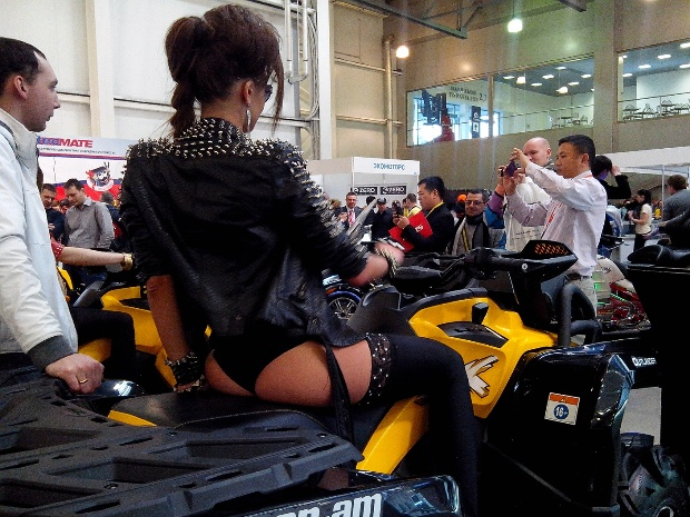 Мото-парк 2014 выставка Крокус Экспо. март