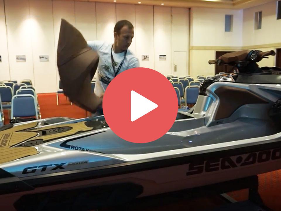 Новая модульная платформа гидроциклов SEA DOO 2018 GTX LTD ORCA