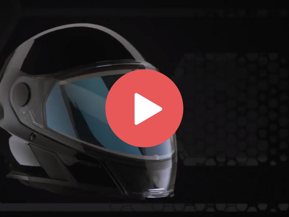 Новый снегоходный шлем BRP Oxygen HELMET 2019 Ski-Doo