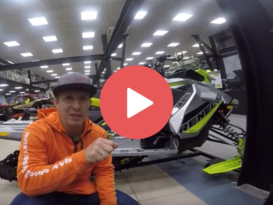 Подвеска rMotion Ski-Doo RENEGADE . Какие элементы настраиваются?