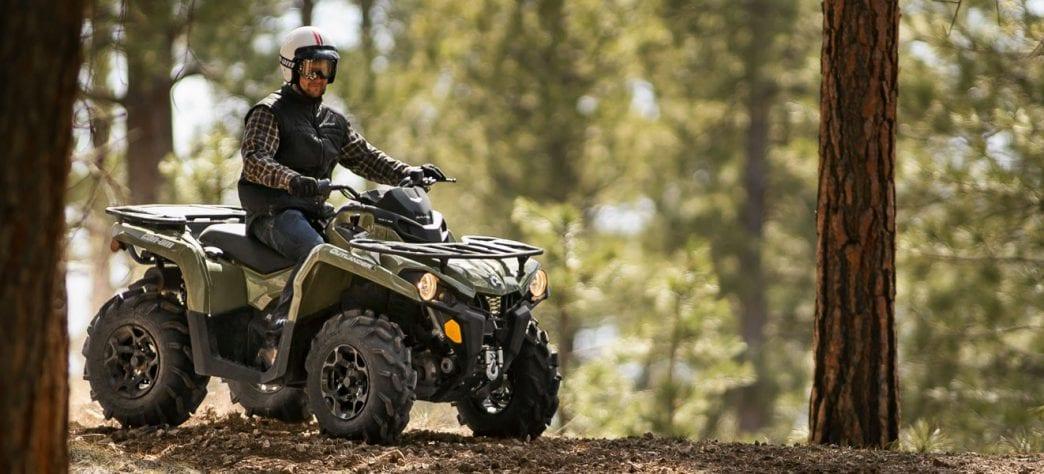 Сравнение квадроциклов Yamaha Grizzly, Can-Am Outlander 570 Max DPS и Outlander 570 PRO