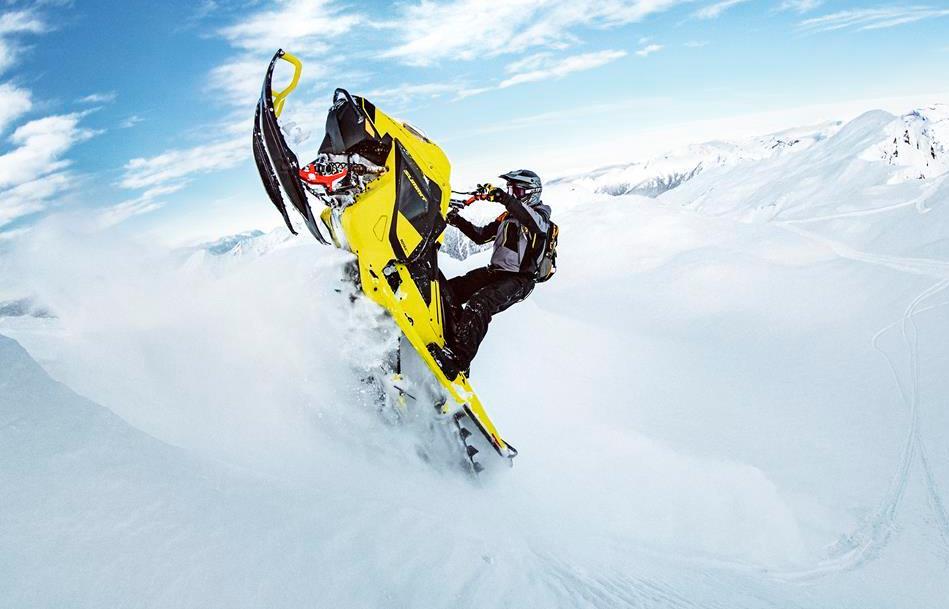 Новый горный снегоход Ski-Doo Summit с двухтактным двигателем Rotax 850 E-TEC Turbo