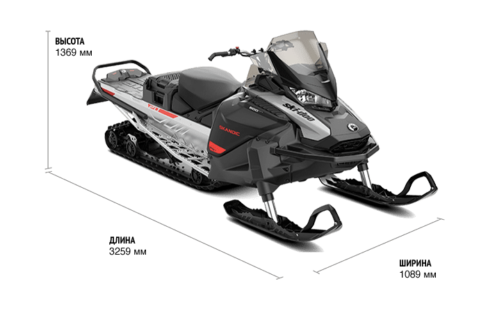 SKANDIC Sport 600 EFI ES 2021