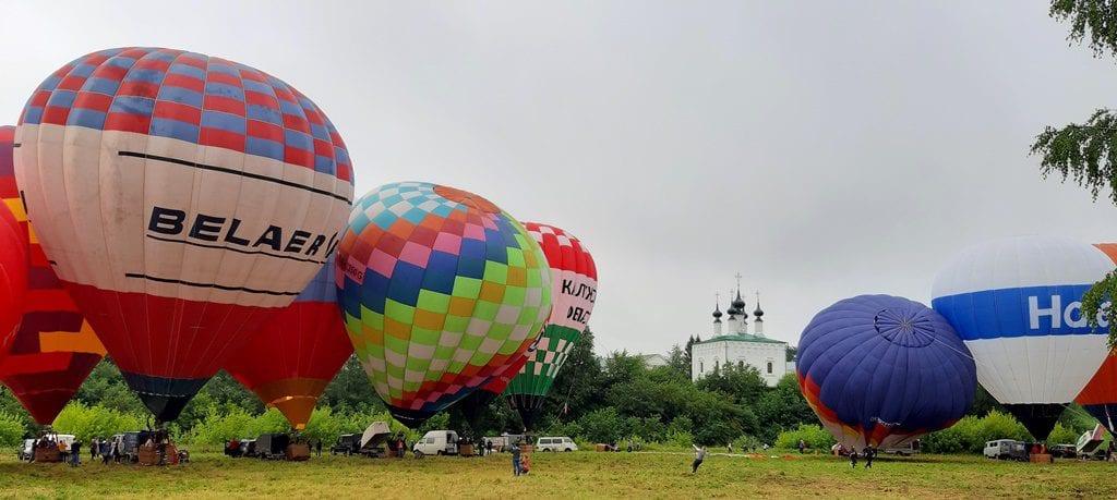 Поездка на родстерах на фестиваль аэростатов 15-17 июля