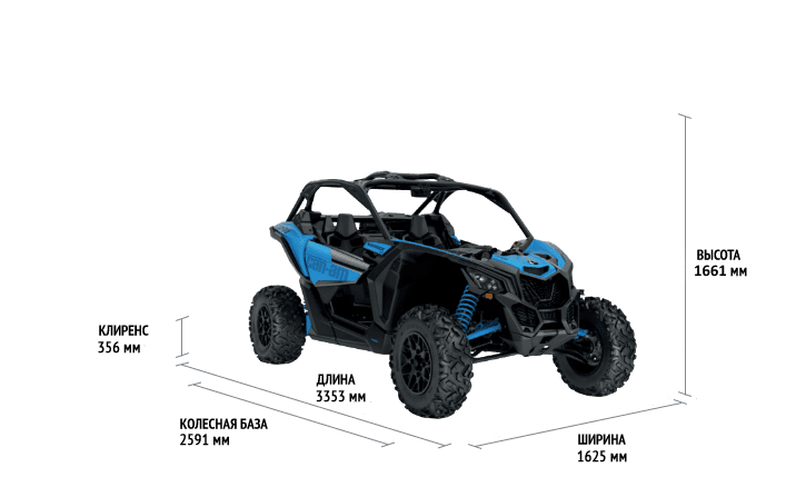 Can-Am Maverick DS Turbo 2021