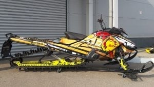 Cнегоход SKI-DOO SUMMIT X 850 165″ 2017 М.Г. С ПРОБЕГОМ