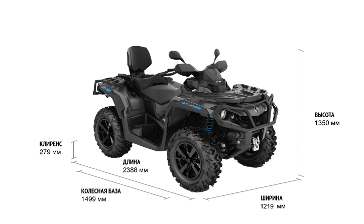 Can-Am OUTLANDER MAX XT 650 ABS 2021