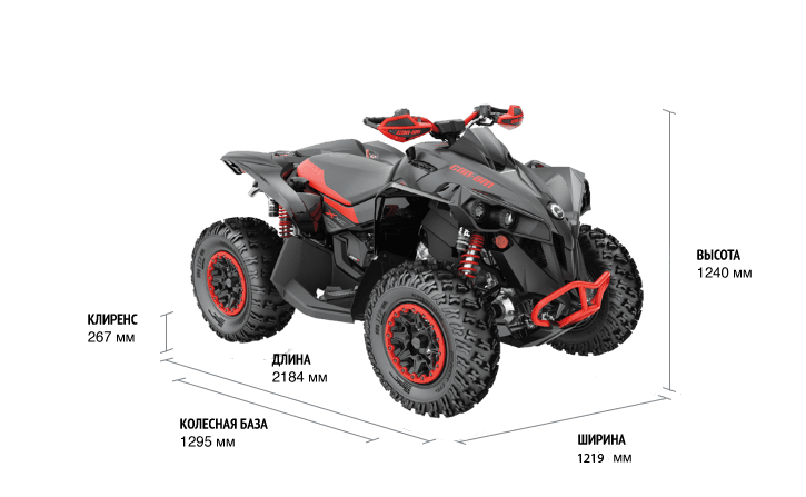 Can-Am RENEGADE X XC 1000R+ 2021