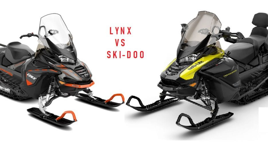Ski-Doo Expedition LE и Lynx Commander STD 900ACE. Сравнение снегоходов.