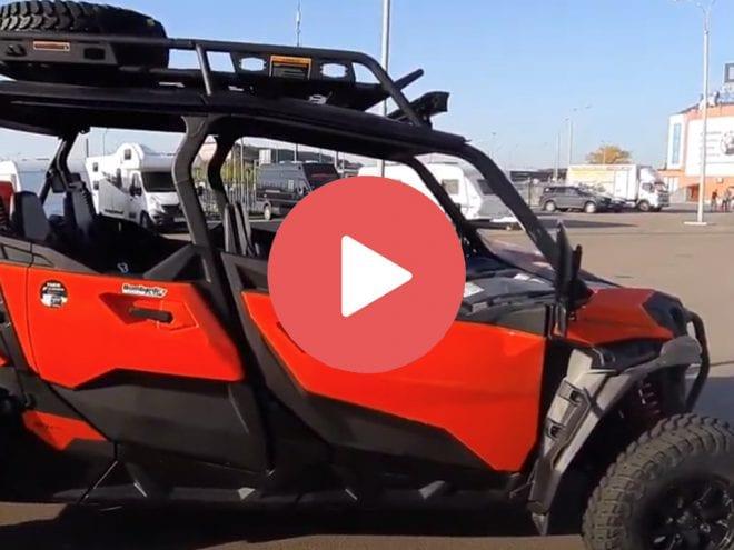 Видео обзор  BRP MAVERICK MAX SPORT 1000 T с аксессуарами