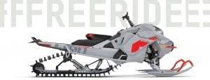 "Ski-Doo Freeride 850 E-Tec Turbo 165"" *2021"