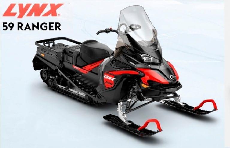 Обзор и сравнение двух новых широкогусеничных снегоходов BRP LYNX 59 Ranger c моторами 600 EFI и 600 АСЕ