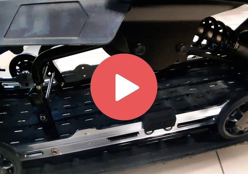 Про подвеску EASYRIDE, лыжи BLADE DS+ и вариатор Drive. Снегоходы BRP LYNX 2021 модельного года