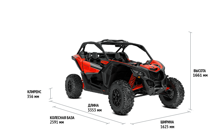 Can-Am Maverick DS TURBO R  2021