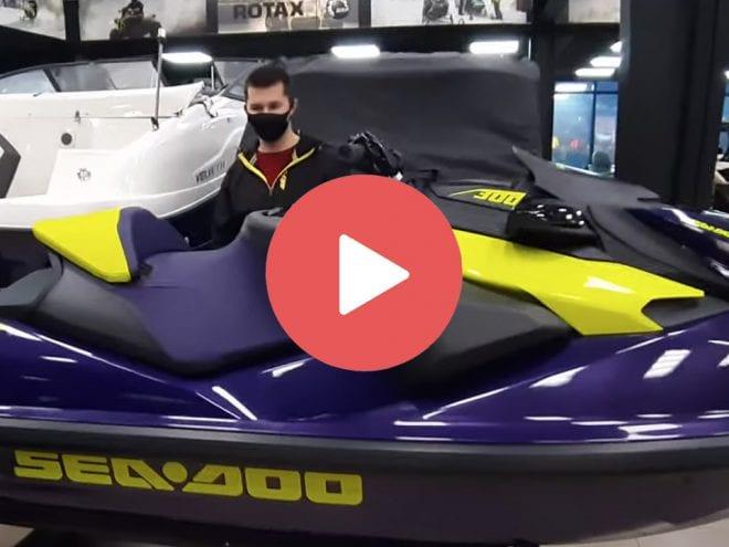 Видео обзор нового гидроцикла Sea-Doo RXP X 300 2021