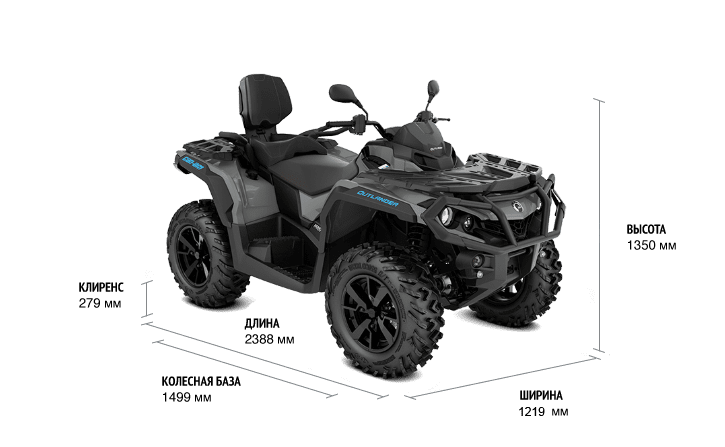 Can-Am Outlander MAX DPS 1000 ABS T3 2021